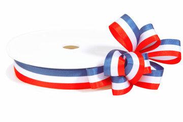 Nederlandse vlag lint