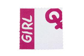 10 labels voor doopsuikerdoosje Girl