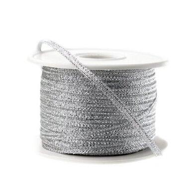 Lint Zilver Metallic 3 mm 10 meter