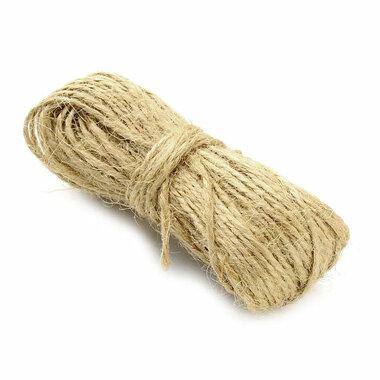 20 meter hennep touw 1.5 mm dikte