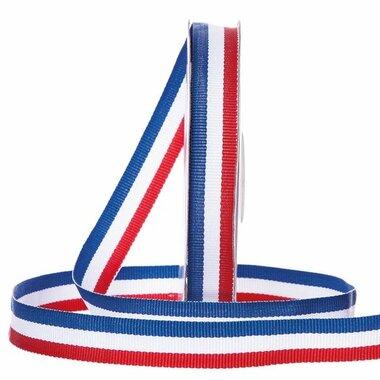 Nederlandse vlag lint 1.5 cm breed 20 meter rol