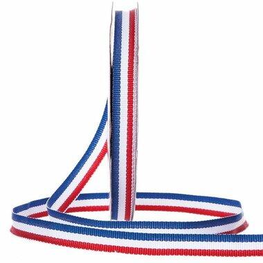 Nederlandse vlag lint 1 cm breed 20 meter rol