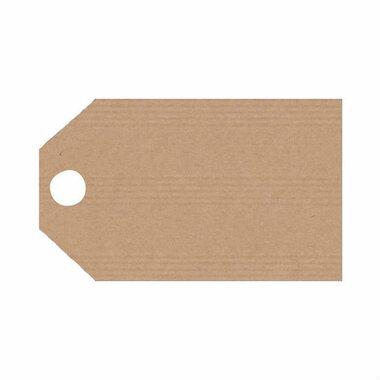 Kraft labels 5 x 9 cm