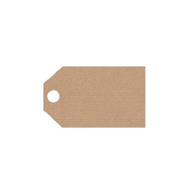 Kraft labels 2.5 x 5 cm