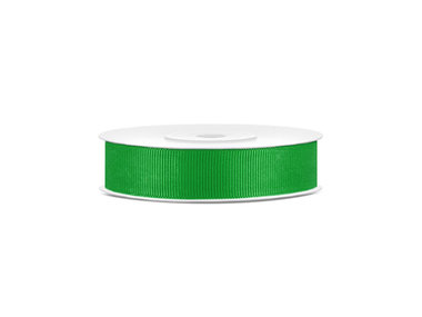 Grosgrain lint 15 mm breed groen