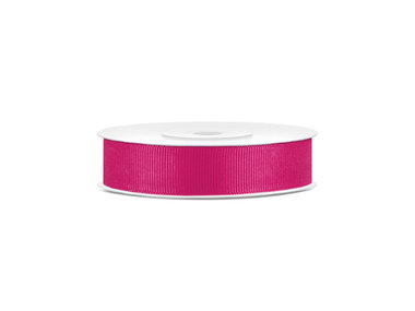 Grosgrain lint 15 mm breed fuchsia
