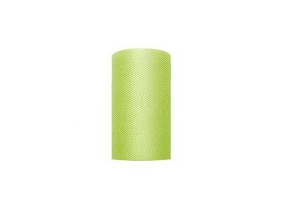 8 cm Tule lint lime groen